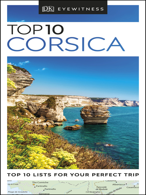 Cover of DK Eyewitness Top 10 Corsica