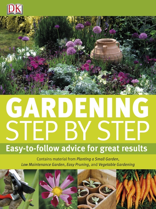 Title details for Gardening Step by Step by DK - Available