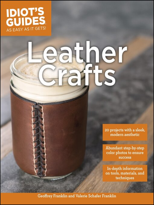 Cover of Idiot's Guides - Leather Crafts