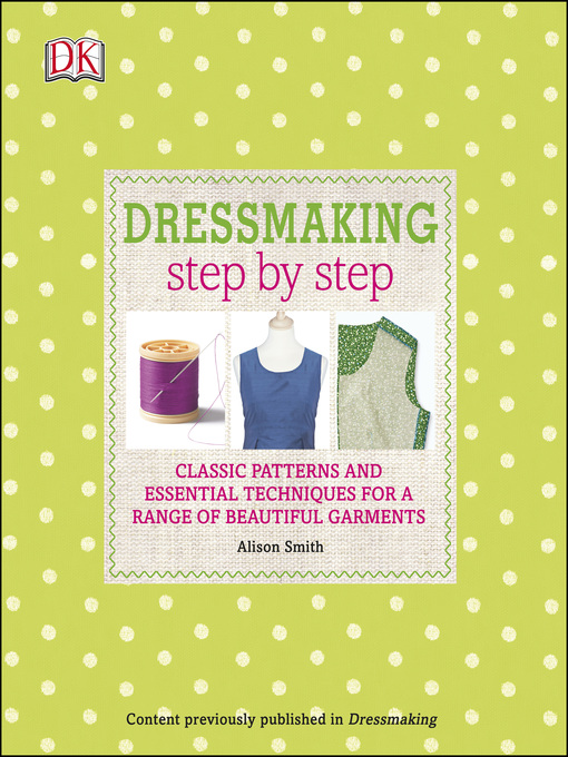 Cover of Dressmaking Step by Step