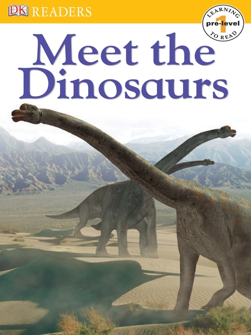 Title details for Meet the Dinosaurs by Penny Smith - Available