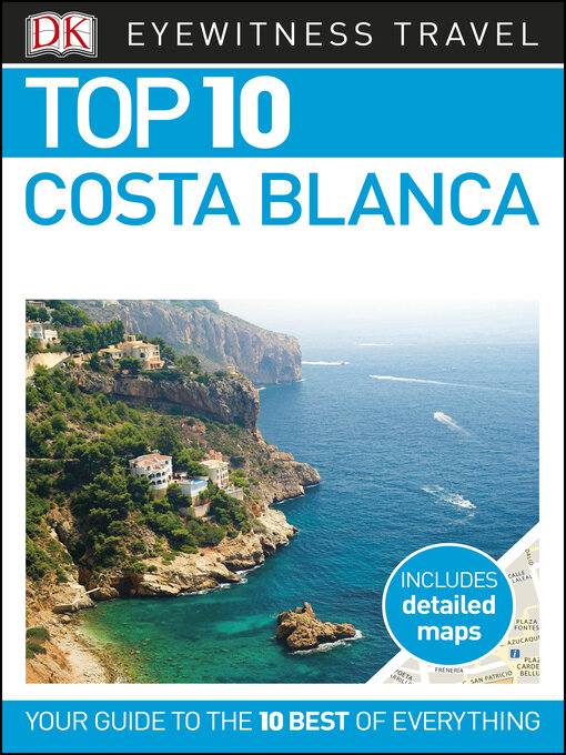 Cover of DK Eyewitness Top 10 Costa Blanca