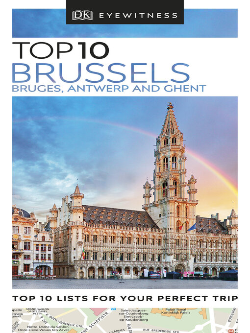 Title details for Top 10 Brussels, Bruges, Antwerp & Ghent by DK Travel - Wait list