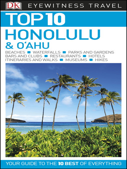 Cover of DK Eyewitness Top 10 Honolulu and O'ahu