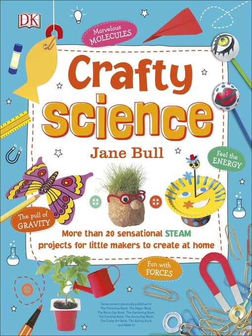 Title details for Crafty Science by Jane Bull - Wait list