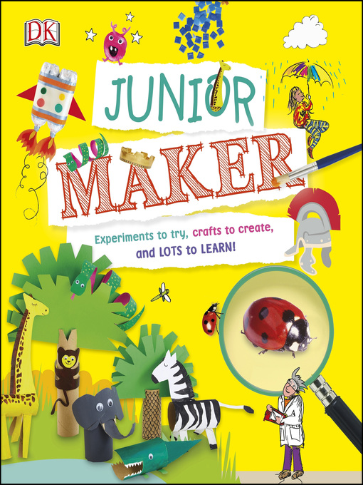 Title details for Junior Maker by DK - Available