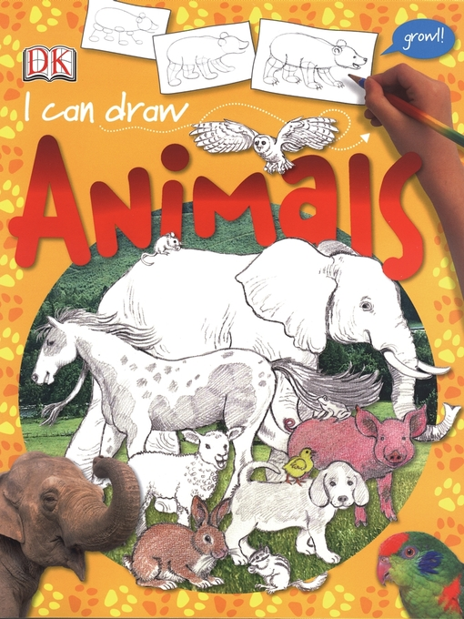 I Can Draw Animals by DK