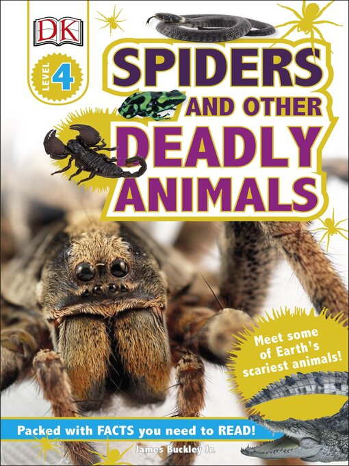 Title details for Spiders and Other Deadly Animals by Jim Buckley - Available