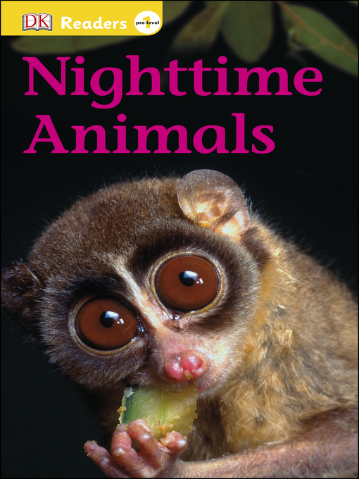Title details for Nighttime Animals by DK - Wait list