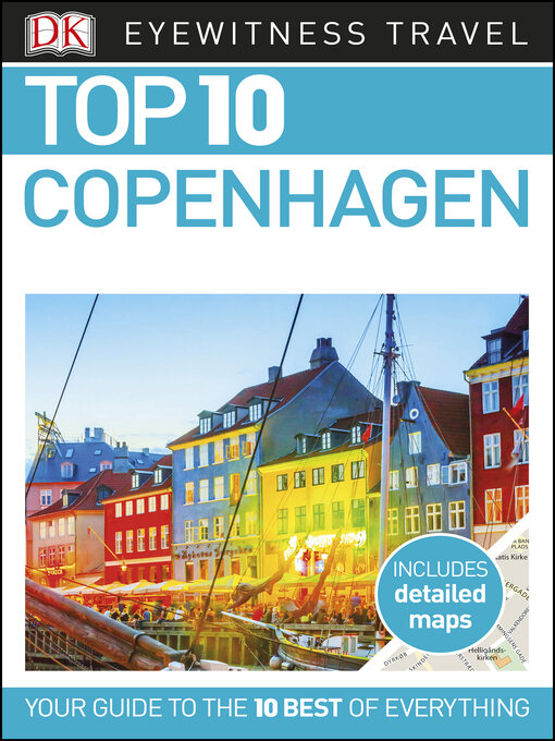 Cover of DK Eyewitness Top 10 Copenhagen