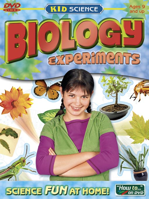 Cover of Kid Science: Biology Experiments