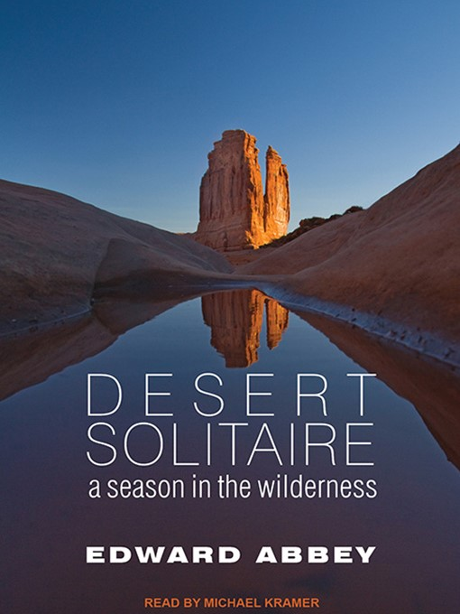 Title details for Desert Solitaire by Edward Abbey - Wait list