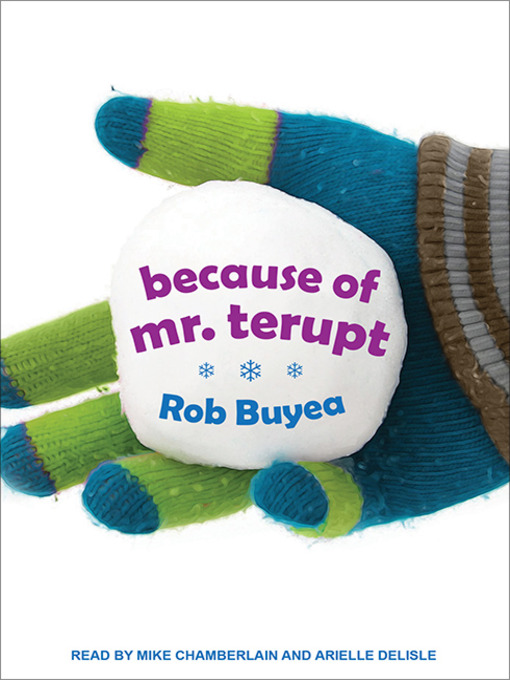 Title details for Because of Mr. Terupt by Rob Buyea - Available