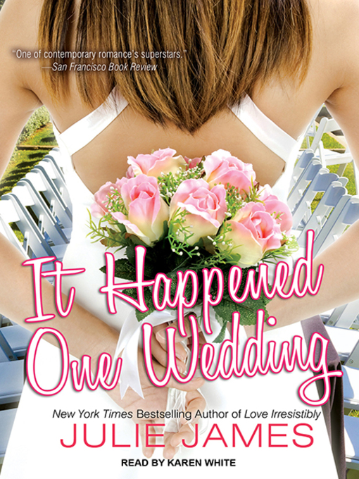 Title details for It Happened One Wedding by Julie James - Wait list