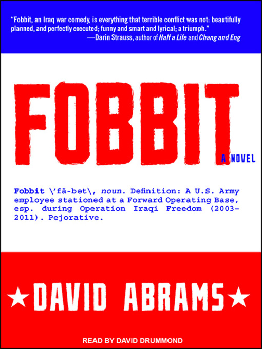 Title details for Fobbit by David Abrams - Available