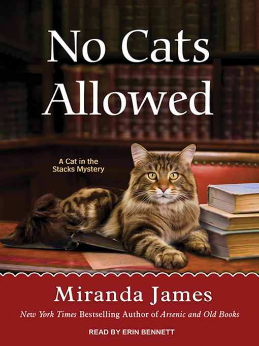 Title details for No Cats Allowed by Miranda James - Wait list