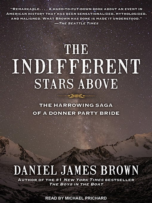 Title details for The Indifferent Stars Above by Daniel James Brown - Wait list
