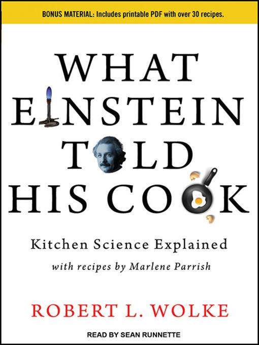 what einstein told his cook kitchen