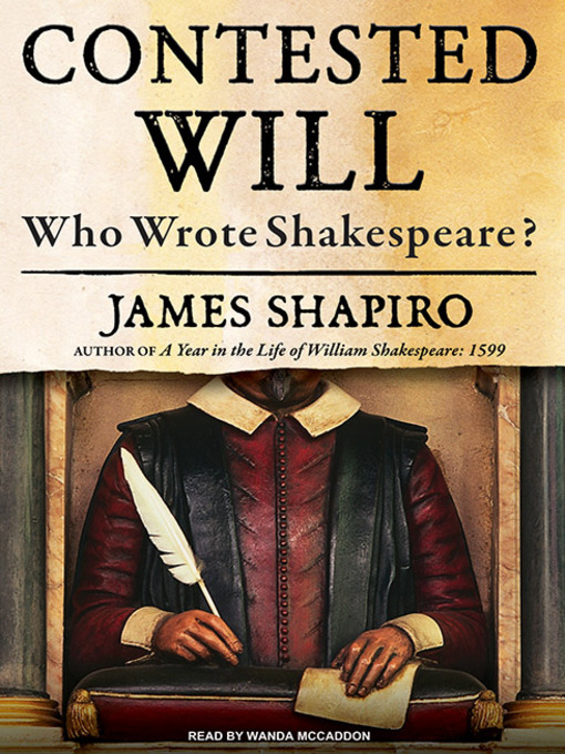 Title details for Contested Will by James Shapiro - Wait list