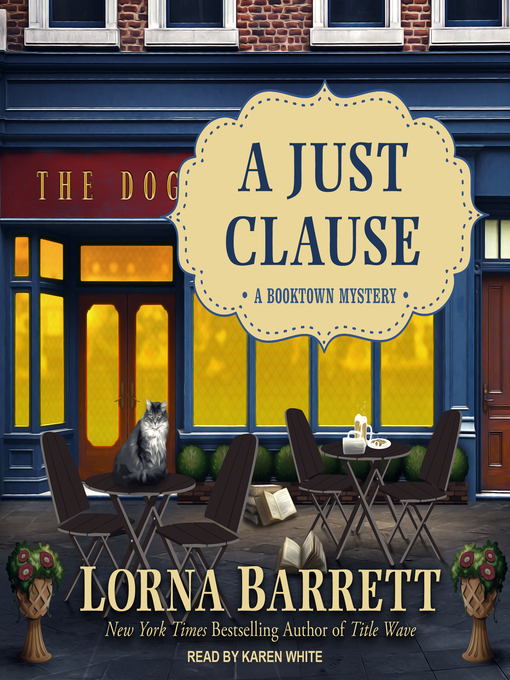Title details for A Just Clause by Lorna Barrett - Available
