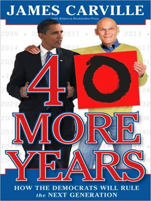 Title details for 40 More Years by Rebecca Buckwalter-Poza - Available