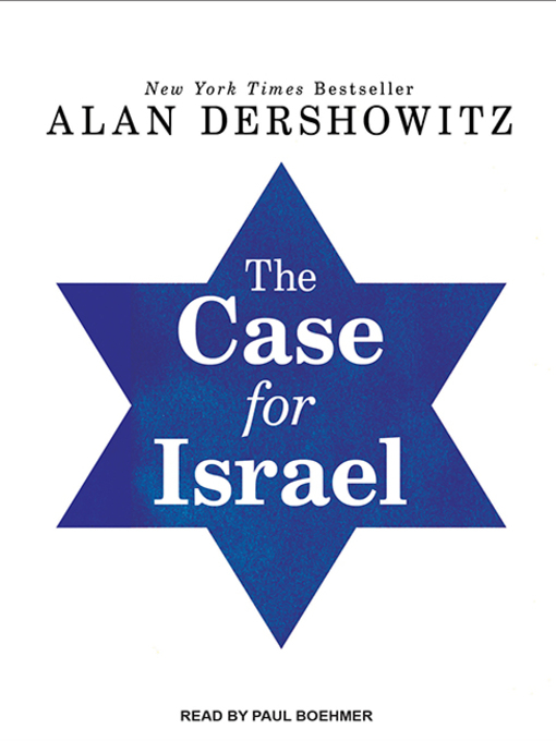 Title details for The Case for Israel by Alan M. Dershowitz - Wait list