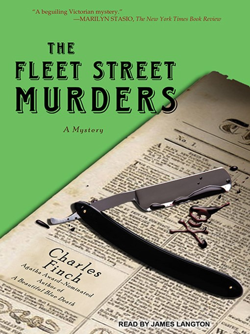 Title details for The Fleet Street Murders by Charles Finch - Available