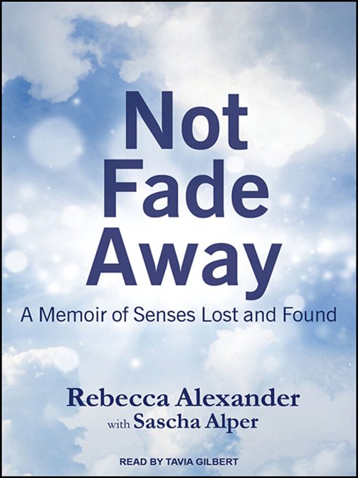 an analysis of not fade away a book by rebecca a alexander Treasurer joe hockey has dismissed the discussion on housing bubble as 'lazy analysis it wouldn't go away rebecca alexander – her book titled 'not.