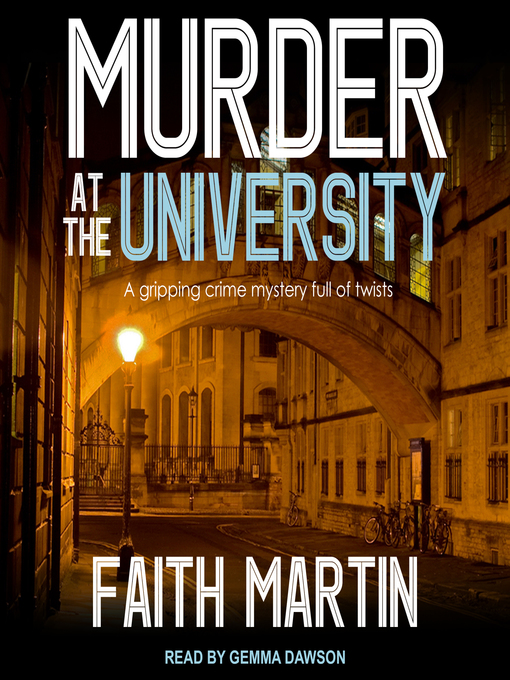 Title details for Murder at the University by Faith Martin - Wait list