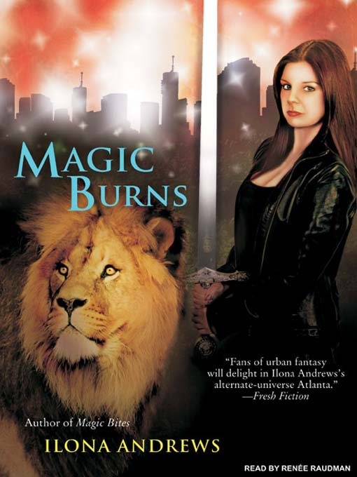 Title details for Magic Burns by Ilona Andrews - Available