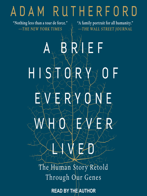 Cover of A Brief History of Everyone Who Ever Lived