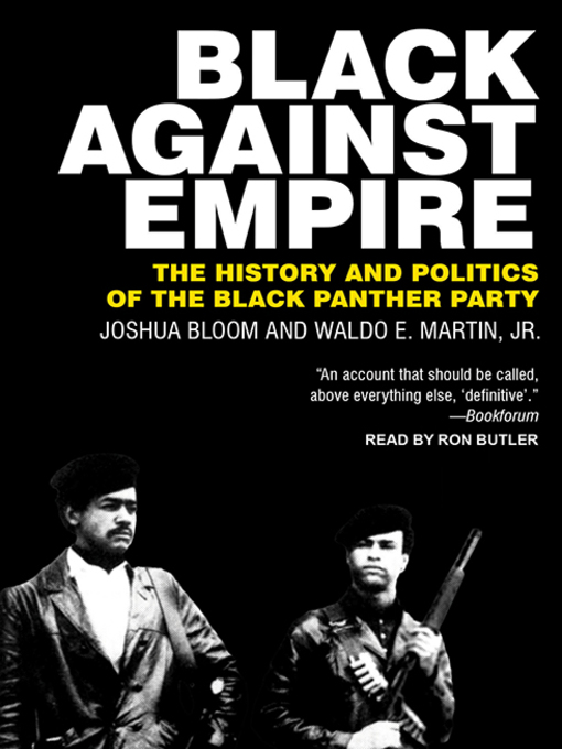 Title details for Black against Empire by Joshua Bloom - Available