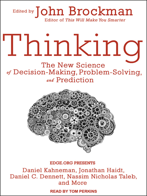 Title details for Thinking by John Brockman - Wait list