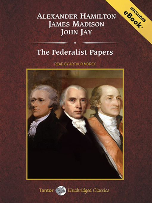 Cover image for The Federalist Papers