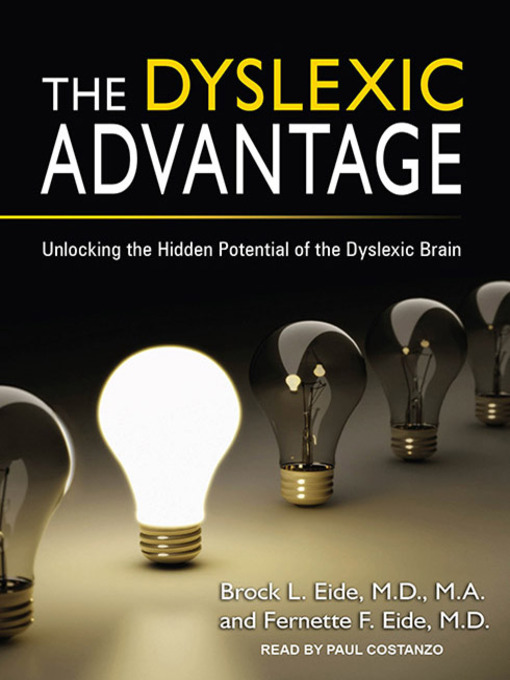 Cover of The Dyslexic Advantage