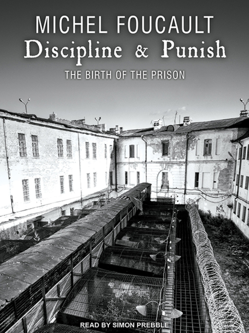 Cover of Discipline & Punish