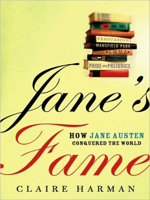 Title details for Jane's Fame by Claire Harman - Available