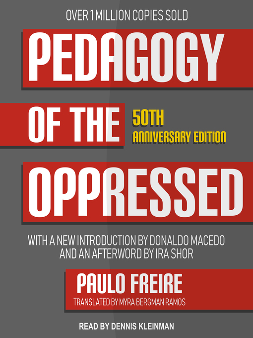 Title details for Pedagogy of the Oppressed by Paulo Freire - Available