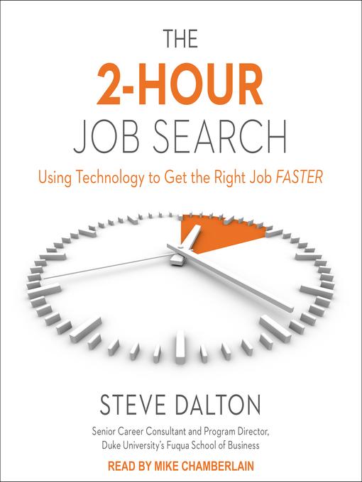 Title details for The 2-Hour Job Search by Steve Dalton - Wait list