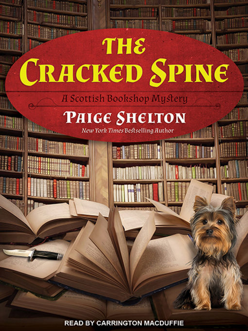 Title details for The Cracked Spine by Paige Shelton - Wait list
