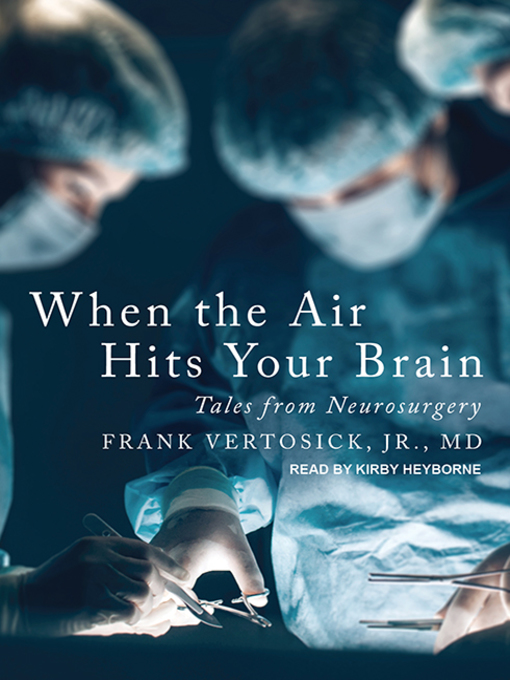 Cover of When the Air Hits Your Brain
