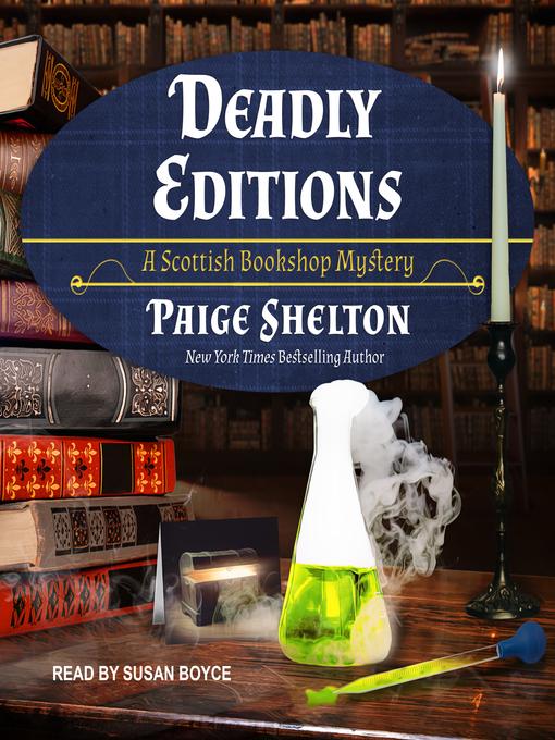 Title details for Deadly Editions by Paige Shelton - Wait list