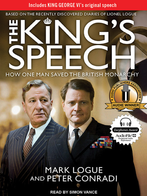 Title details for The King's Speech by Peter Conradi - Available