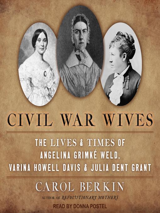 Title details for Civil War Wives by Carol Berkin - Wait list