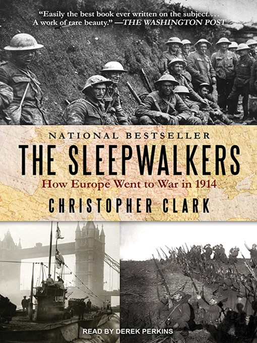 Title details for The Sleepwalkers by Christopher Clark - Wait list