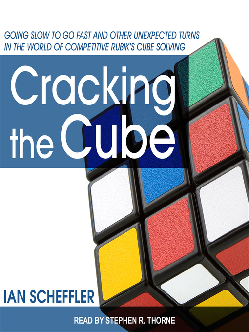 Title details for Cracking the Cube by Ian Scheffler - Wait list