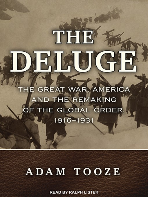 Title details for The Deluge by Adam Tooze - Available