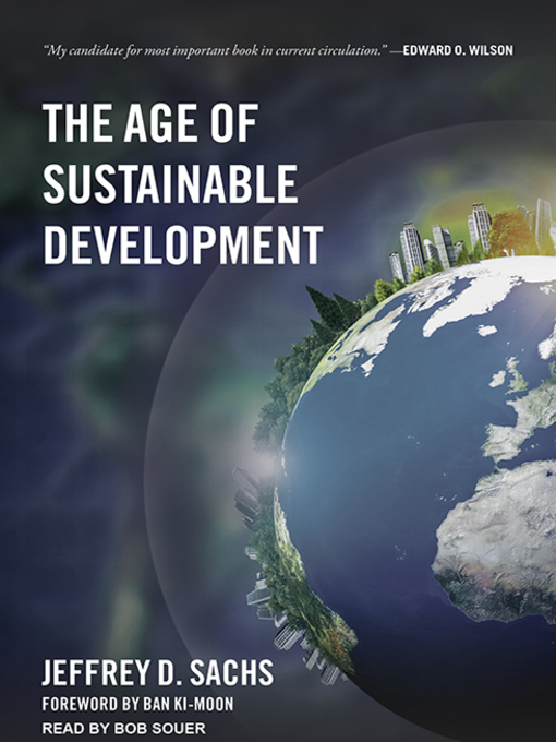 Cover of The Age of Sustainable Development