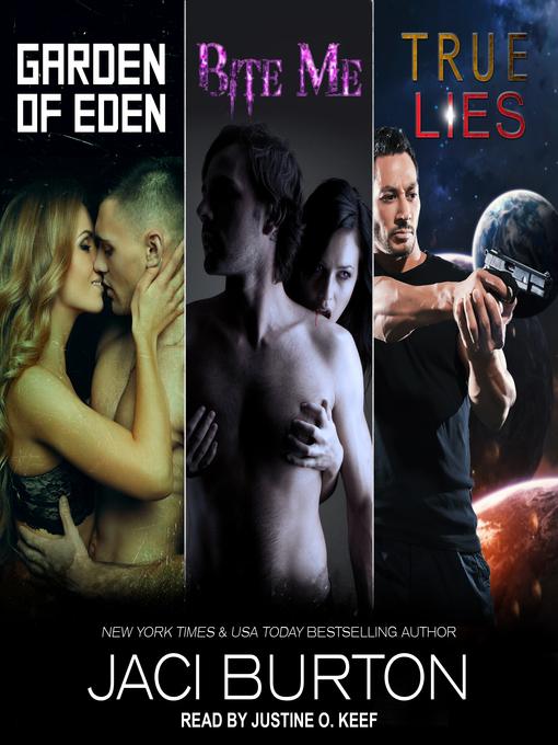 Cover image for Garden of Eden, Bite Me, & True Lies