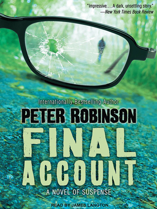 Title details for Final Account by Peter Robinson - Available